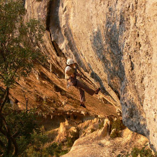 Escalade Gorges du Gardon