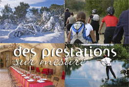 Prestations sur mesure